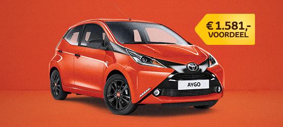 Nu € 1.581,- voordeel op een nieuwe AYGO uit voorraad!