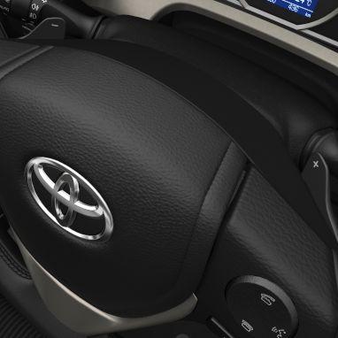 Schaltwippen am Lenkrad (nur für Multidrive S Getriebe und Automatikgetriebe)