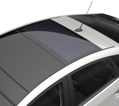 Solcellepanel på taket (linket til Soltak)