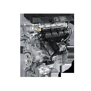 1.8L bensin hybrid (136 hk)
