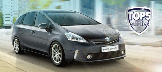 Prius Wagon Aspiration Top 5 editie