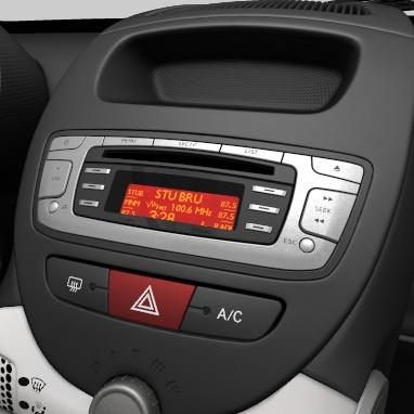 Radio och CD-spelare