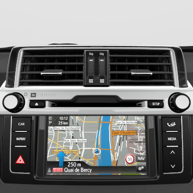 Toyota Touch® 2 with Go navigation system