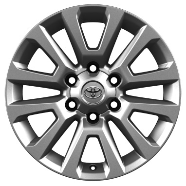 "18"" alloy wheels (6 double-spoke)"