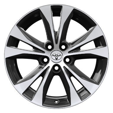 18'' machined-face alloy wheels (5-double spoke)