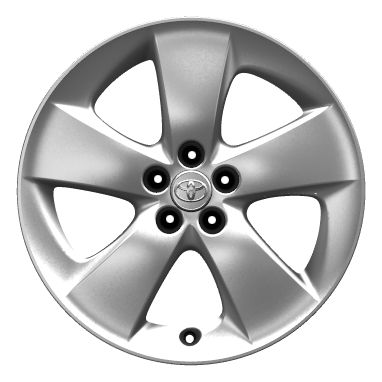 "17"" alloy wheels (5-spoke)"
