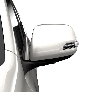 Electrically retractable door mirrors