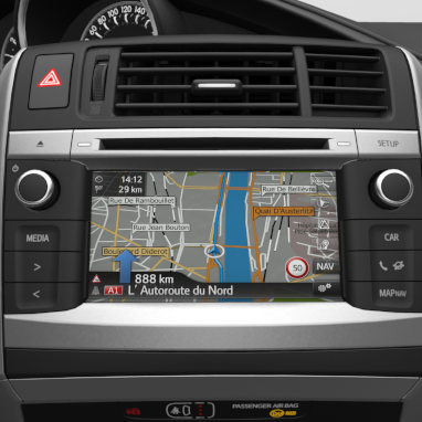Toyota Touch® 2 with Go Navigasyon Sistemi
