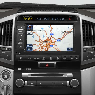 "Toyota Touch&Go Professional Navigationssystem mit 8"" Farbdisplay"