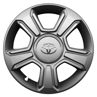 "15"" colour-customisable alloy wheels (5-spoke)"