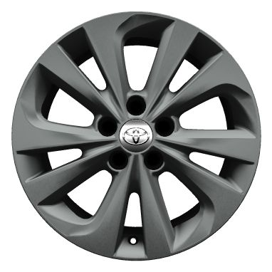 "17"" alloy wheels (5 double-spoke)"