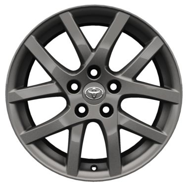 "17"" grey alloy wheels (10-spoke)"