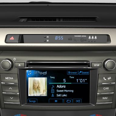 Multimedia-Audiosystem Toyota Touch2 mit Rückfahrkamera: