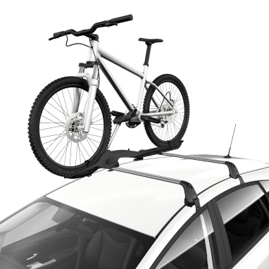 <p>The lockable lightweight aluminium design attaches to Toyota cross bars and has secure wheel and frame grips. Conveniently, the frame grip can be adjusted at roof height. <br /><br />Load capacity (bikes) – 1 <br /><br />Vehicle's holding system – Fits square and extruded aluminium cross bars <br /><br />Safety – Locks bike to carrier <br />&nbsp;&nbsp;&nbsp;&nbsp;&nbsp;&nbsp;&nbsp;&nbsp;&nbsp;&nbsp;&nbsp;&nbsp;&nbsp;&nbsp; Locks carrier to car </p><br><br><em>Price includes VAT, but excludes fitting. A fitting service is available at additional cost at your local Toyota Centre if required.</em>