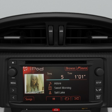 Multimedia-Audiosystem Toyota Touch