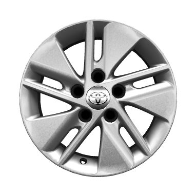 "15"" alloy wheels (5 double-spoke)"