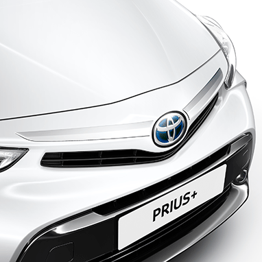 A dash of chrome to highlight the distinctive Prius+ grille. <br><br><em>Price includes fitting and VAT.</em>