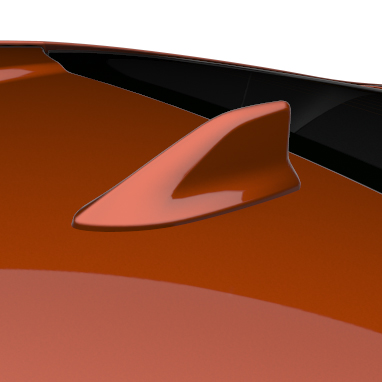 Shark-fin antenna
