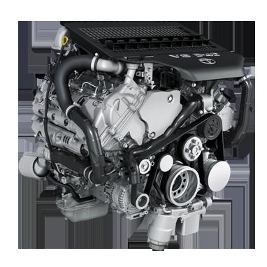 4461cc Diesel 210KW V8 (286 hk)