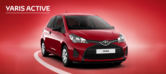 £1,000 Customer Saving available on Yaris Active