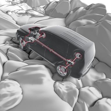 Crawl Control - 5 vitesses (régulateur de vitesse tout-terrain optimisant en permanence la motricité des roues)