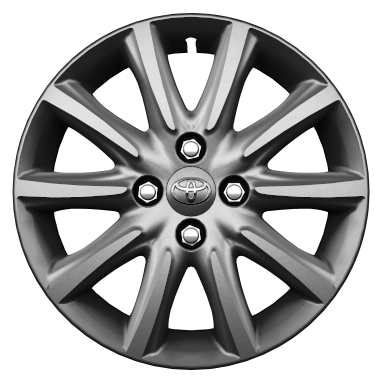"15"" colour-customisable alloy wheels (10-spoke)"