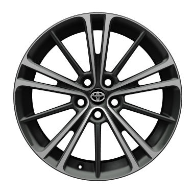 "17"" alloy wheels (10-spoke)"
