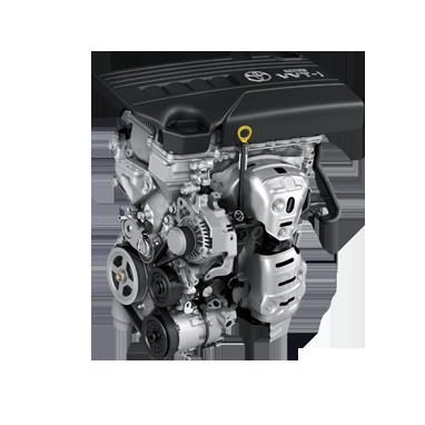 1.33L bensin Dual VVT-i (100 hk)