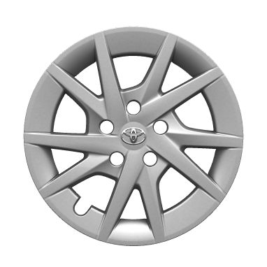 "16"" magnesium alloy wheels with aero covers  (10-spoke)"