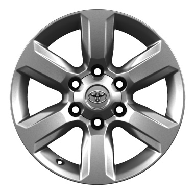 "17"" alloy wheels (6-spoke)"