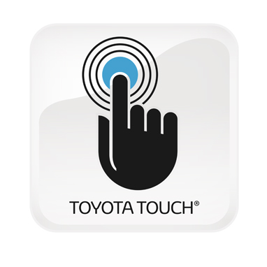 "Sistema multimediale Toyota Touch (""iPod® Ready"", display da 6,1"", 6 altoparlanti, CD, Bluetooth®, Aux-in e USB)"