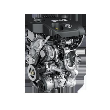 1.4L diesel D-4D (90 hk)